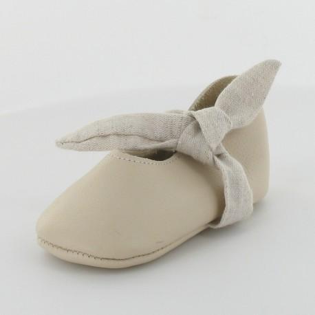 Chausson cuir ballerine - Lady