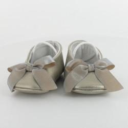 Chausson bébé ballerine élastiqué - Dauphine