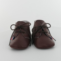 Chausson bébé cuir - Tanin