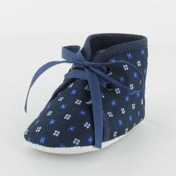 Chausson bébé motif cravate - Foulard