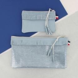Coffret Maroquinerie - Bleu