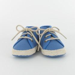 Chausson bébé tennis - bleu